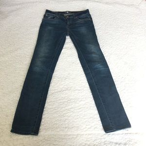 7 for all mankind girls skinny jeans 16